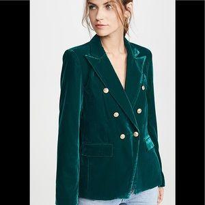 NWT GENERATION LOVE Savannah Velvet Blazer Jacket